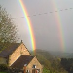 Rainbows from the Village Hall