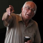 Pat Thurlby conducts the Village Show Auction